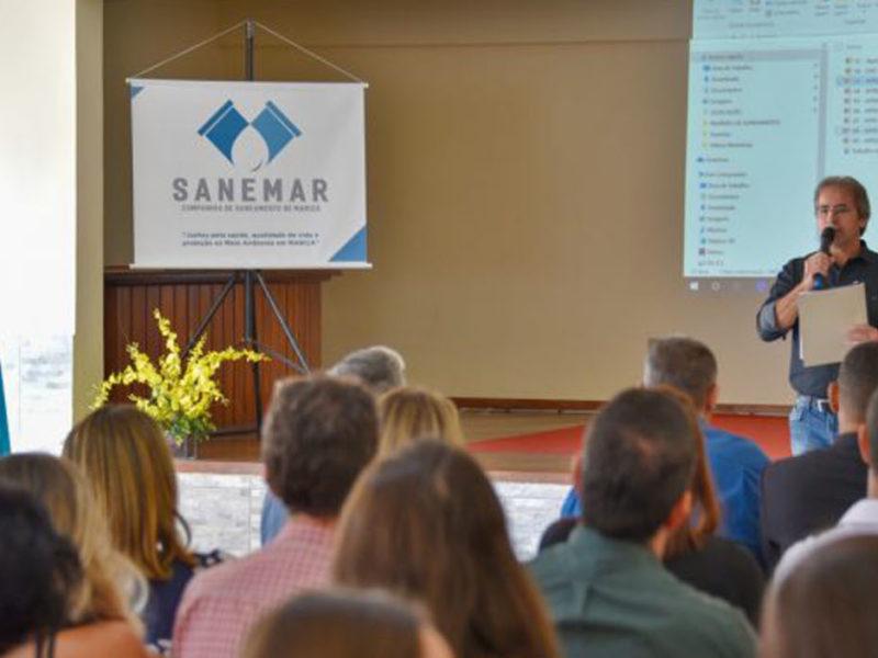 Sanemar anuncia planejamento para levar tratamento de esgoto para áreas de Maricá