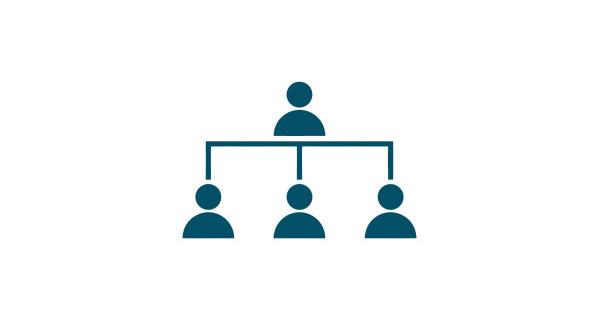 Ícone da Estrutura Organizacional