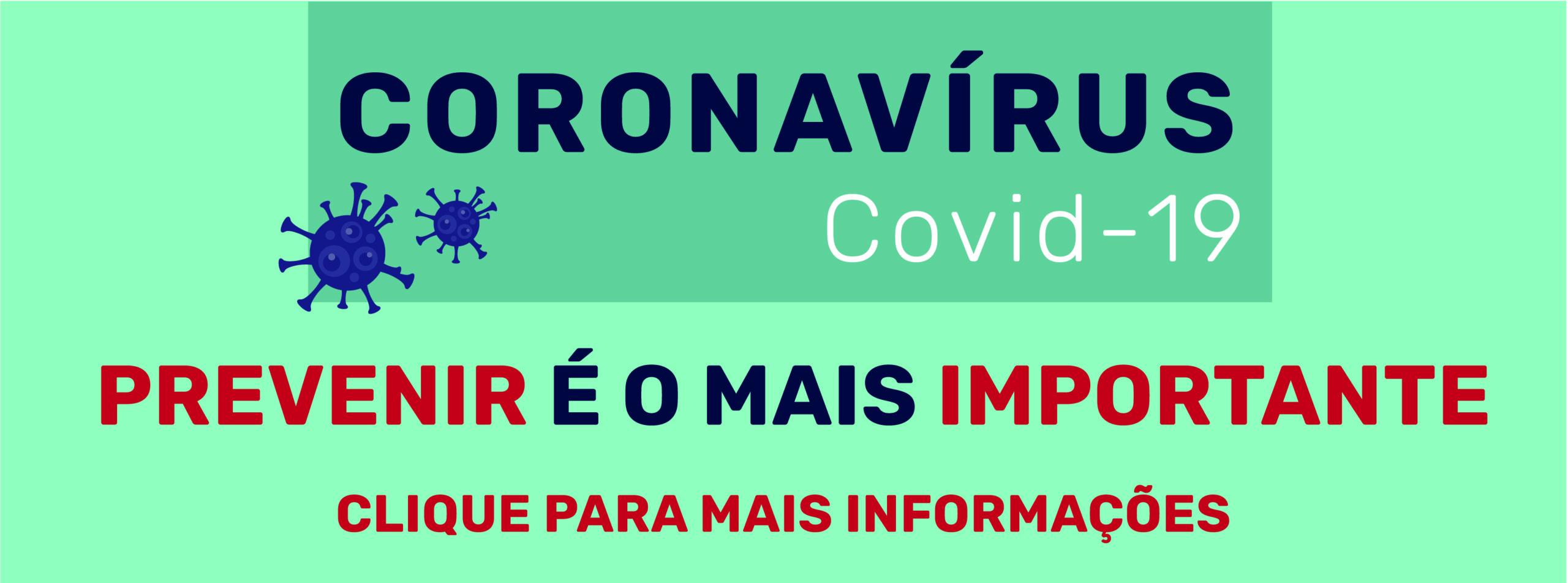 Campanha de combate ao Coronavírus