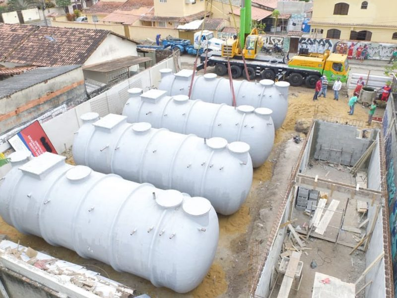 Estação de Tratamento de Esgoto de Pedreira passa por modernização